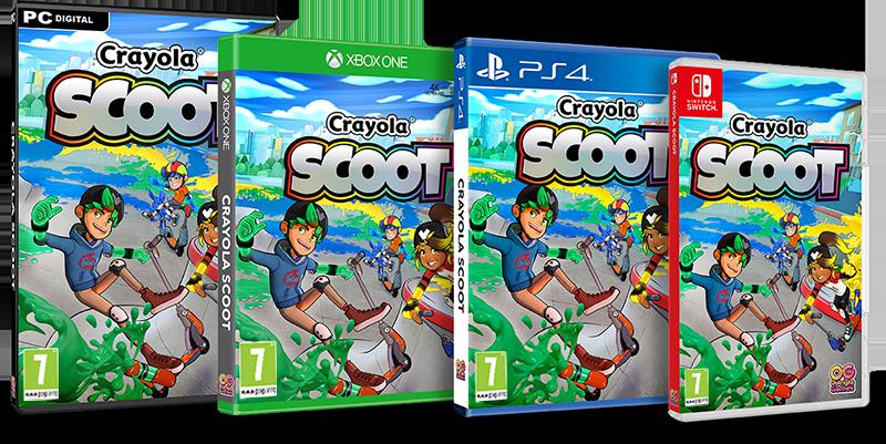Crayoola Scoot Packshot PEGI