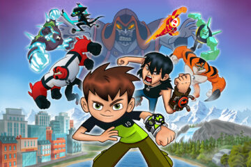 Ben 10 Power Trip Background Website Horizontal