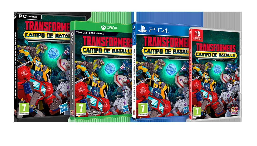 Transformers Campo de Batalla Spanish Logo