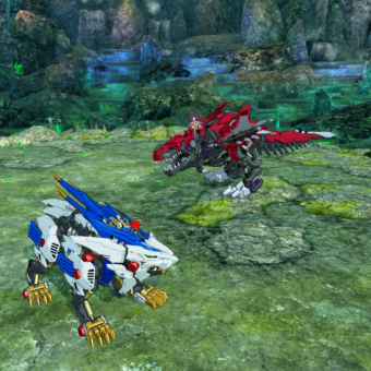 Zoids Wild Blast Unleashed Head to head