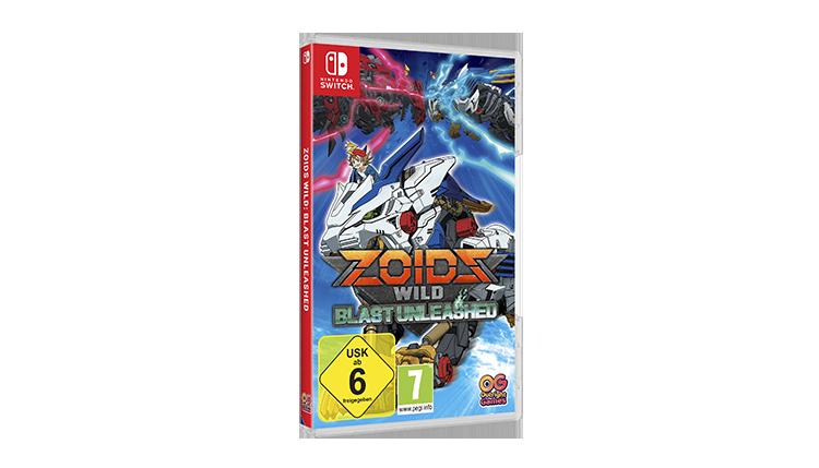 Zoids Wild Blast Unleashed Packshot GER