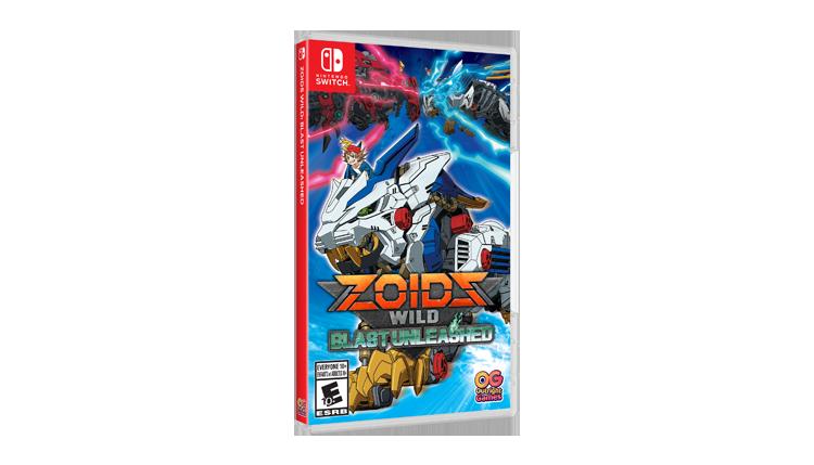 Zoids Wild Blast Unleashed Packshot EN-CA