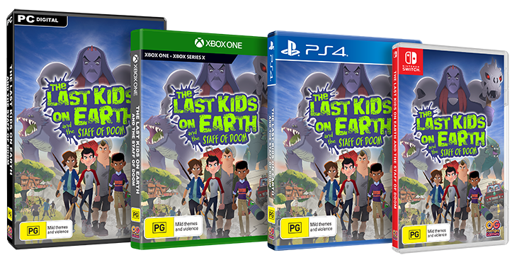 The Last Kids on Earth Packshot