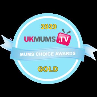 UK Mums Choice Awards Badge - Gold V3