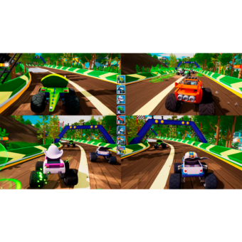 4-player blaze screenshot game feature resize
