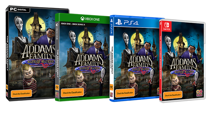 Addams Family Packshot AUS_3H-PC_XB1-PS4-NS_NS