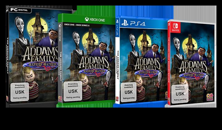 Addams Family Packshot GER-ENG_USK_3H-PC_XB1-PS4-NS_NS