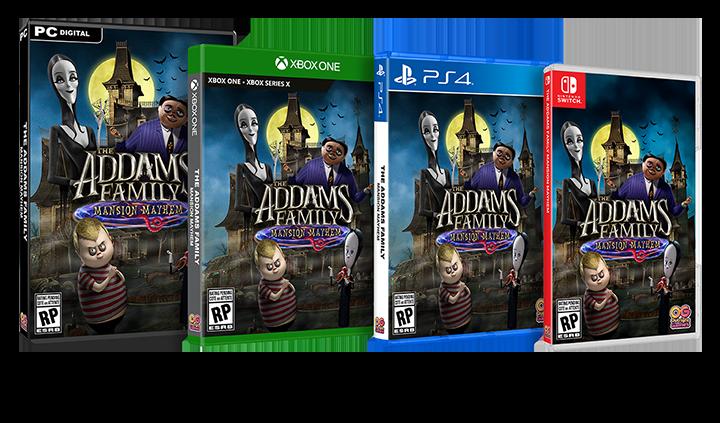 Addams Family Packshot US_3H-PC_XB1-PS4-NS_NS