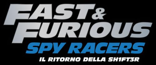 Fast Furious Spy Racers Logo It