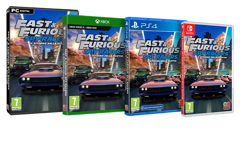 Fast Furious Spy Racers Packshot IT