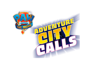 Paw Patrol Adventure City Calls Logo
